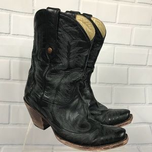 Corral Distressed Cowboy Cowgirl Boots Sz 7.5